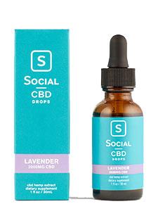 Lavender Isolate CBD Oil Drops Social CBD Review