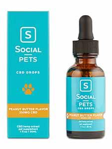 Pets Peanut Butter Broad Spectrum Drops