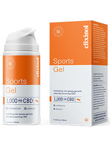 Sports Gel Broad-Spectrum-Elixinol Review