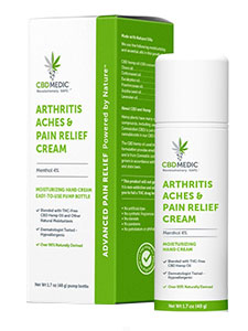 Arthritis Aches and Pain Relief -Charlotte's Web CBD review