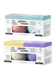 The Dual Packs of Small Bath Bombs-Green Roads Review