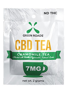 CBD,Chamomile,Vanilla,and Peppermint Tea