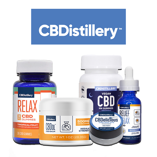 CBDistillery product showcase for St. Patrick's Day CBD Sales