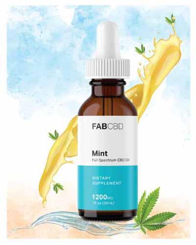 Fab CBD Oil - Mint
